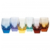 Moser Bar Hiball - Rainbow Colors / Set 6