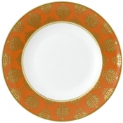 Bristol Belle - Orange Border Dinner Plate