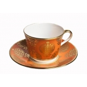 Bristol Belle - Orange Tea Saucer
