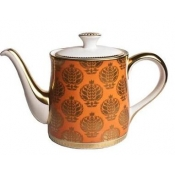 Bristol Belle - Orange Teapot / Medium