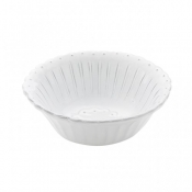 Bella Bianca Beaded Cereal Bowl