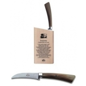 Berti Insieme Ox Horn Handle Curved Paring Knife