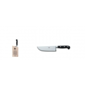 Berti Insieme Black Lucite Handle Pesto Knife