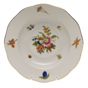 "Fruits and Flowers RIM SOUP PLATE  8""D"