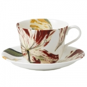 Botanical Tulips Breakfast Cup