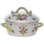 Printemps SMALL COV VEG DISH - W/BRANCH