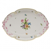 "Printemps RIBBON TRAY  15.75""L X 11""W"