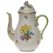 Printemps COFFEE POT W/ROSE - 36 OZ