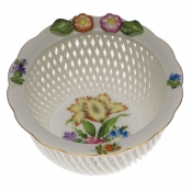 Openwork Basket w/ Flowers - Flower 1