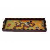 Annie Modica Dragon Dynasty Bar Tray