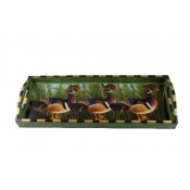 Annie Modica Ducks Bar Tray