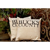 Bucks County Pillow