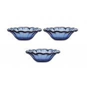 Arte Italica Burano Glass Dipping Bowl Set / 3