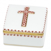Herend Prayer Box - Rust
