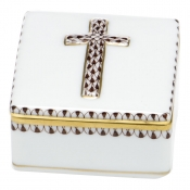 Herend Prayer Box - Brown