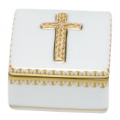 Herend Prayer Box - Yellow