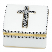 Herend Prayer Box -Black