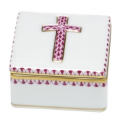 Herend Prayer Box - Pink