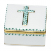 Herend Prayer Box - Green