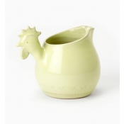 Bellezza Celadon Small Rooster Pitcher