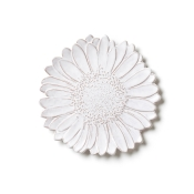 Salad Plate - White Daisy
