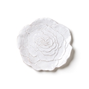 Salad Plate - White Rose