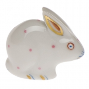 Herend Polka Dot Rabbit Pink
