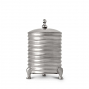 L'Objet Han Canister Candle with Lid - 3-Wick - Platinum