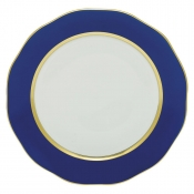 Silk Ribbon Charger - Cobalt Blue