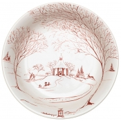 Country Estate Ruby &  Winter Frolic Medium Serving Bowl
