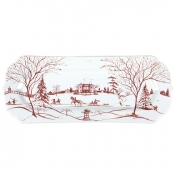Country Estate Ruby &  Winter Frolic Hostess Tray