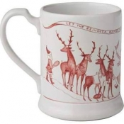 Juliska Country Estate Reindeer Games Mug
