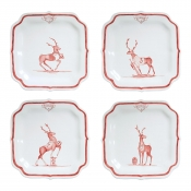 "Juliska Country Estate Reindeer Games ""Team Sports"" Party Plates S/4"