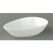 Checks by Thomas Keller Quenelle Dish - Large