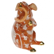 Chinese Zodiac Mouse Eating Tail