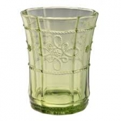 Juliska Colette Green Tumblers - Set 4