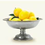 MATCH Pewter Footed Footed Compote