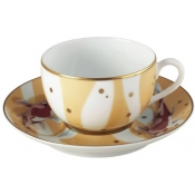 Constellation Carp Tea Cup & Saucer Extra (Set Of 2 In A Gift Box)