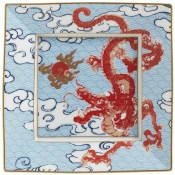 Constellation Dragon Candy Dish Red Dragon