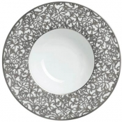 Courdoue Platinum Rim Soup Plate
