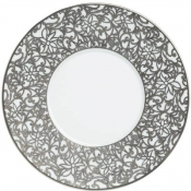 Courdoue Platinum Dessert Plate - Round Bottom
