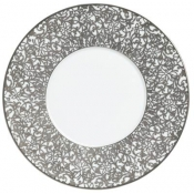 Courdoue Platinum Dinner Plate - Round Bottom