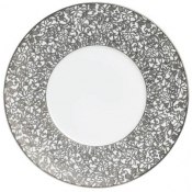 Courdoue Platinum Buffet Plate - Round Center