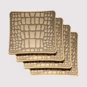 L'Objet Crocodile Coasters / Set 4