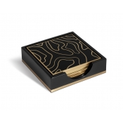 L'Objet Isles Coasters + Case (set of 4)