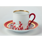 Cristobal Coral Coffee Cup