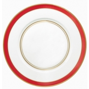 Cristobal Coral Dinner Plate - Small Band