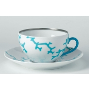 Cristobal Turquoise Breakfast Cup