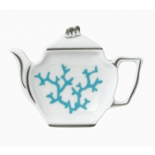 Cristobal Turquoise Tea Bag Holder
