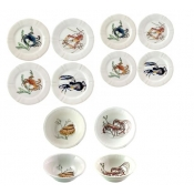 Gien Grands Crustaces 12 Piece Set
